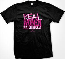 SALE Real Women Watch Hockey Funny Proud Sports Fan T-Shirt
