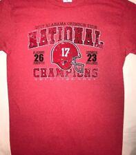 2018 Alabama Crimson Tide Championship Score T-shirt Cardinal heather color
