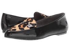 Addie Black Patent Jaguar Calf Hair Me Too Loafers