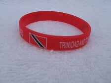SILICONE~TRINIDAD~TOBAGO~RASTA~BRACELET~CARNIVAL~PORT OF SPAIN~RASTAFARI~NEW