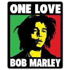 Bob Marley ONE LOVE reggae Vynil Car Sticker Decal - Select Size