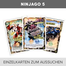 LEGO Ninjago-Serie 5 Trading Cards- Einzelkarten 201-252+LE01-LE27 zum aussuchen
