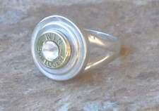 Winchester 9mm  Pistol Bullet Ring  Sterling Silver 925   Beretta 9mm