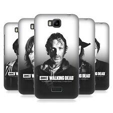 AMC Ufficiale The Walking Dead filtrata ritratti BACK CASE PER Huawei Telefoni 2