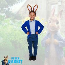 Boys (4-12) Peter Rabbit Jacket & Ears Fancy Dress - World Book Week Day Costume