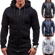 Men's Hooded Hoodie Hoody Winter Warm Sweater Zip Jacket Coat Sweatshirt Outwear