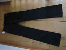 CALVIN KLEIN WASHED BLACK STRAIGHT LEG JEANS 24 25 WAIST 4 6 XXXS XXS BNWT