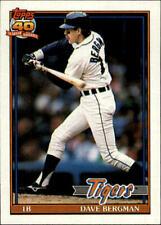 1991 Topps Baseball Base Singles #412-514 (Pick Your Cards)