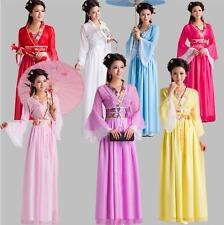Chinese Ancient Dramaturgic Women kids Costume Traditional Infanta Robe Dress