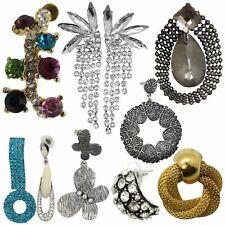 Style Metal Alloy Earrings Jewellery True Face Ladies Women's Elegant Drop