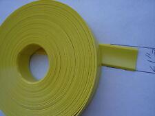 "Rv trailer 1"" Vinyl INSERT TRIM MOLDING 100' yellow"