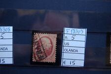FRANCOBOLLI OLANDA USATI N°5 (F18309)