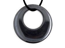 Colgante de HEMATITE pequeño forma donut y grande forma circular variedad modelo