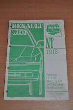 Werkstatthandbuch RENAULT Clio NT 1912 C 579 MR 295 Motor F3P Einspritzung 1993