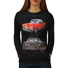 Classic Automotive Car Women Long Sleeve T-shirt NEW | Wellcoda