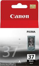 Canon PG-37, PG37 Schwarz orginal OEM PIXMA Inkjet Patronen