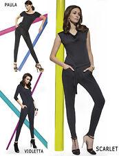 Combinaison décontracté TOP pantalons leggings Costume chemise Saut SUIT Stretch