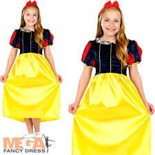 BIANCANEVE Ragazze Costume principessa delle fiabe Libro Medievale Costume da bambino Kids