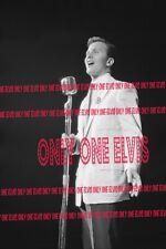 1950s Pop Crooner Singer Pat Boone Photo Live in Concert New Unseen