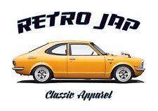 TOYOTA COROLLA SR5 t-shirt. RETRO JAP. CLASSIC CAR. MODIFIED. JDM.