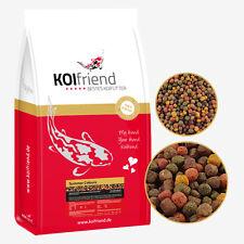 Koifutter Koi Summer Colours 15 kg 3- 6mm Fischfutter Spirulina Paprika 8 Sorten