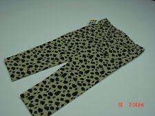 NWT Toddler Girls Healthtex Animal Print Jeans Cheetah Print Browns Cute Pants