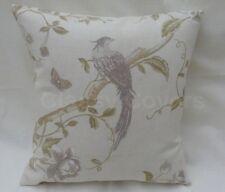 "Laura Ashley Designer Cushion Cover "" SUMMER PALACE"" Ivory/Taupe Various Sizes"