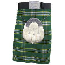 Mens Tartanista Deluxe IrishTartan Scottish Highland 16oz 8 Yard Kilt 30 - 54