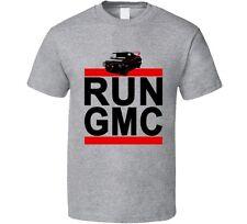 Run Gmc A Team Van Movie Tv Rap Hip Hop T shirt