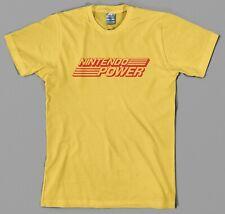Nintendo Power T Shirt logo magazine retro 8 bit mario zelda snes nes issue NEW