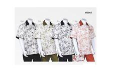 Men's 2-piece Set Casual Set Shirt & Pants /Walking Suit 2 tone Art Print # 2962