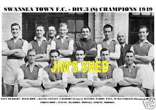 Swansea Town F.c. equipo de impresión 1949-Div.3 (sur) Champ