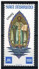 San Marino 1977 Centenario primi francobolli San Marino da foglietto Mnh