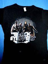 Black Eyed Peas black t shirt ladies (juniors) size Xlarge