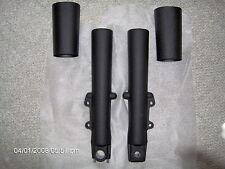 Harley touring fork legs/sliders fit 2000-2013-WRINKLE BLACK POWDER COAT
