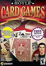 Hoyle Card Games 2004 - PC, Windows 95, Windows XP, Pc, Wind. Good Cond. Video G