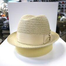 BILTMORE FLORINO RICE STINGY BRIM DRESS HAT