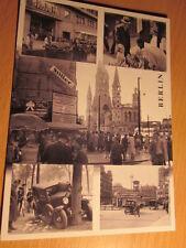 Mehrbild AK Historisches Berlin KaDeWe Tauentzien Gedächtniskirche Autounfall