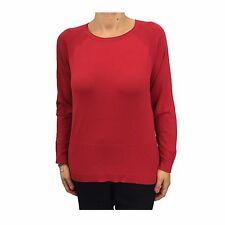 ELENA MIRÒ maglia donna manica lunga rosso 65%viscosa 35% poliammide