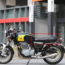 Universal Motorcycle Cafe Racer Seat Flat & Hump Fits For Honda Suzuki Yamaha US