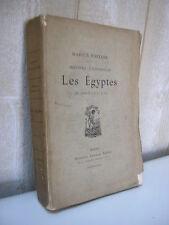 Marius Fontaine / Les Egyptes de 5000 à 715 av J.C.  Lemerre 1882