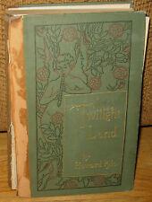 Howard Pyle Twilight Land HC 1st ED 1895 Harper & Bros