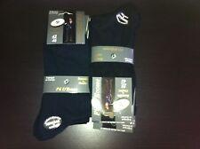 lot 3 a 24 paires de chaussettes homme Fil d'Ecosse 100% coton noir uni remail