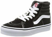 Vans VN-0D5F6BT : Kids Sk8-Hi Black/True White Skate Shoe