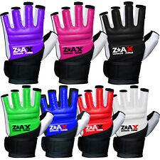 Martial Art MMA Leather Combat Gel Gloves Padded Karate Boxing Teakwondo Gloves