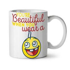 Beautiful Smile Funny NEW White Tea Coffee Mug 11 oz | Wellcoda