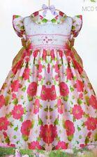 Pretty Orginials Smocked Dress with Headband MCO1028E Age 18mths to 4 years