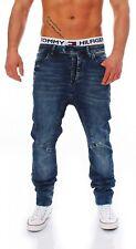 CIPO & BAXX - C-44002 - Carrot Fit - Herren Blau Jogg Jeans Hose