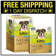 Kiltix Tick Flea Collar For Dogs (Paralysis, Brown Dog & Bush Tick) - 1, 5 or 10