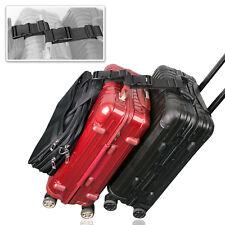 Add a Bag Luggage Strap Adjustable Suitcase Belt Straps Accessories Travel Trip